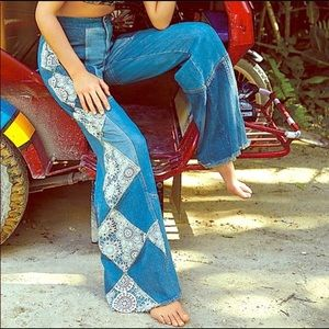 Free People In My Element Flares Jeans
